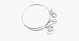 Charm Bangle : You are my person - FREE SHIP DEALS
