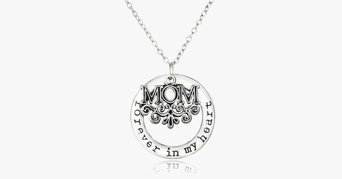 Mom Forever Pendant Necklace - FREE SHIP DEALS