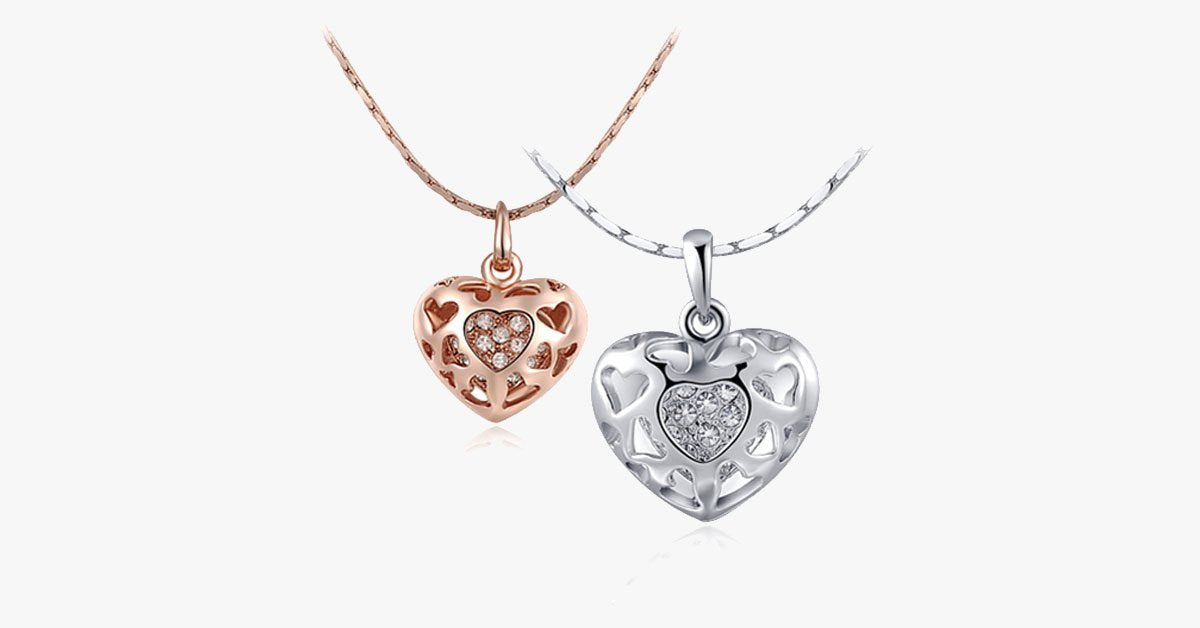 Lockit Heart Pendant - FREE SHIP DEALS