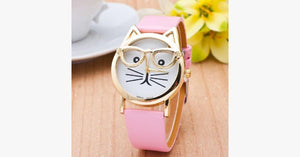 Nerdy Cat Watch - FREE SHIP DEALS