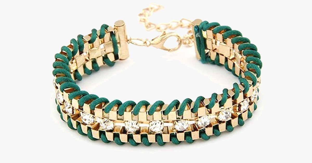 Golden Chain Bracelet - FREE SHIP DEALS