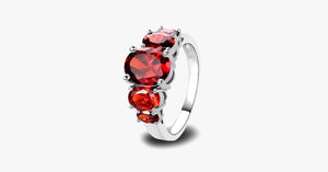 Elegance Garnet  Ring - FREE SHIP DEALS
