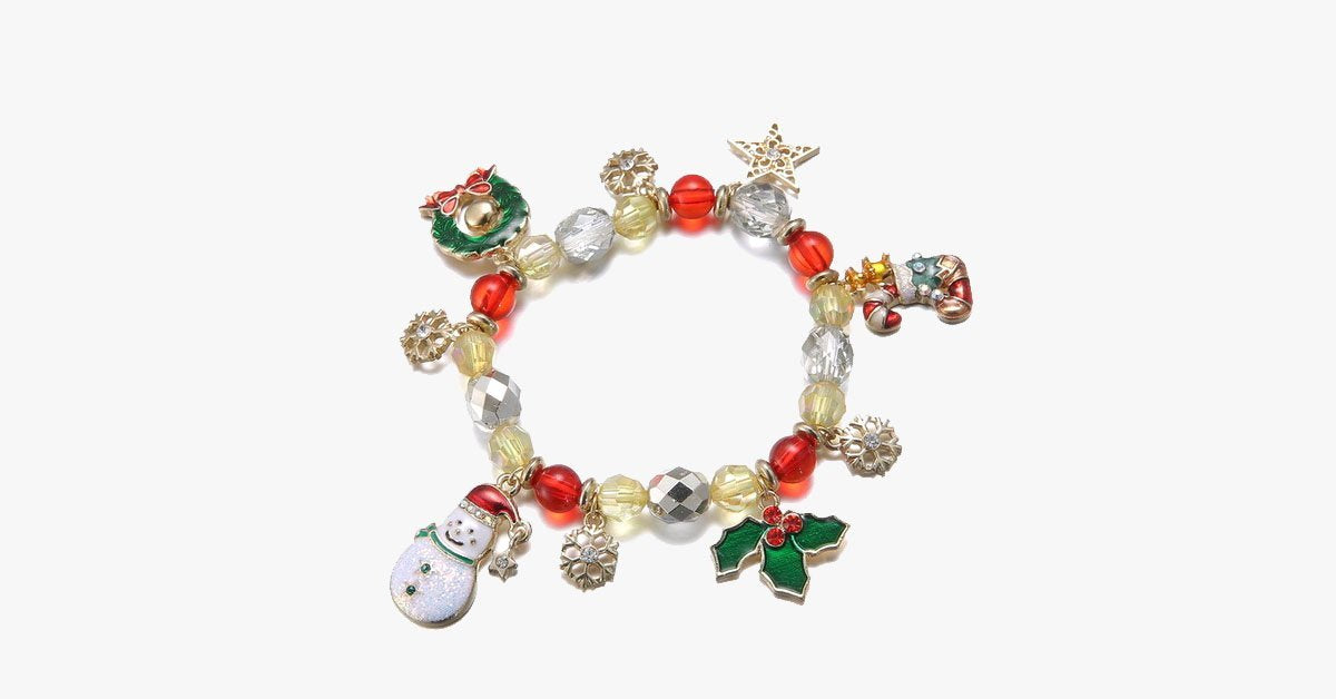 Christmas Family Charm Bracelet - FREE SHIP DEALS