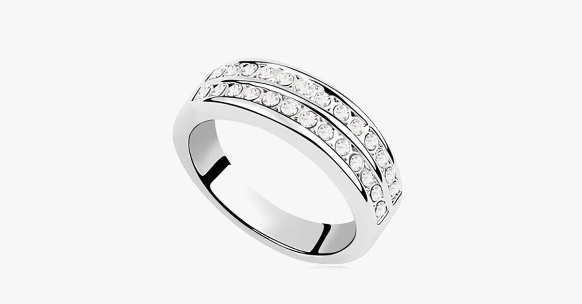 Double Band Eternity Ring - FREE SHIP DEALS