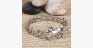 Punk Horse Stainless Steel Charm Bracelet - FREE SHIP DEALS