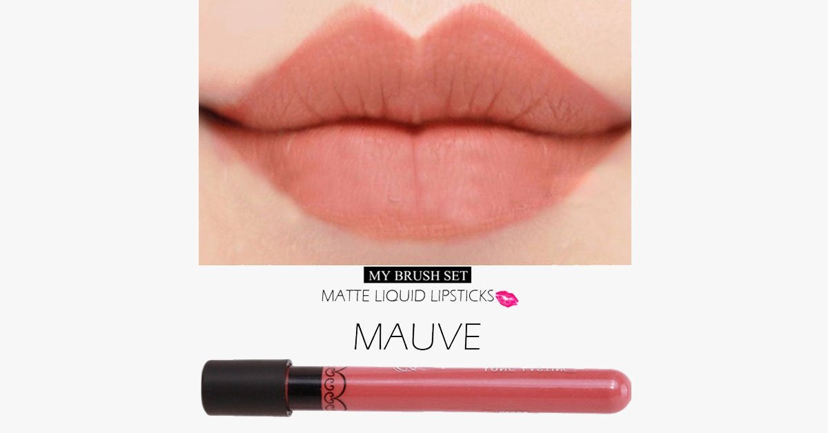 Lip Gloss Matte Liquid Lipstick – The Waterproof Delight for Your Lips