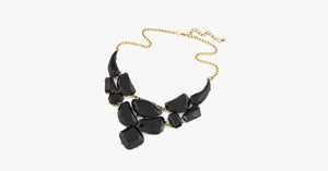 Bold Stone Statement Necklace - FREE SHIP DEALS