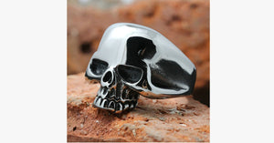 Men's Skull Ring - Fashionable Multicolor Ring for Men