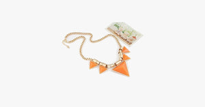 Bold Triangle Statement Necklace - FREE SHIP DEALS