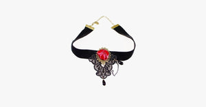 Deep Rose Choker - FREE SHIP DEALS