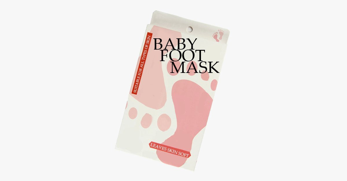 Baby Foot Mask - FREE SHIP DEALS