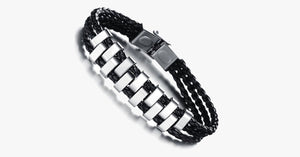 Railway Track Stainless Steel Bracelet - FREE SHIP DEALS