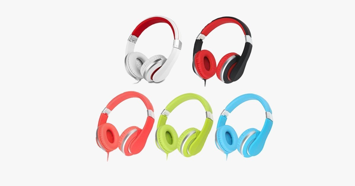 Premium Comfort Foldable Headphone – Compact Headphones To Take On The Go!