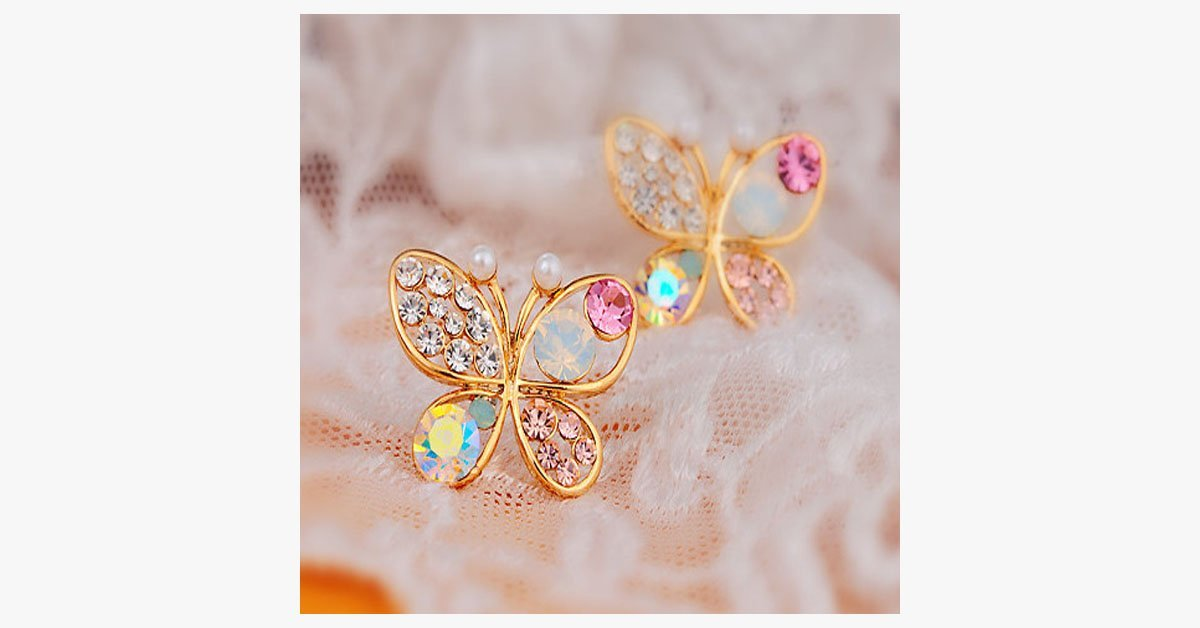 Colorful Butterfly Earrings - FREE SHIP DEALS