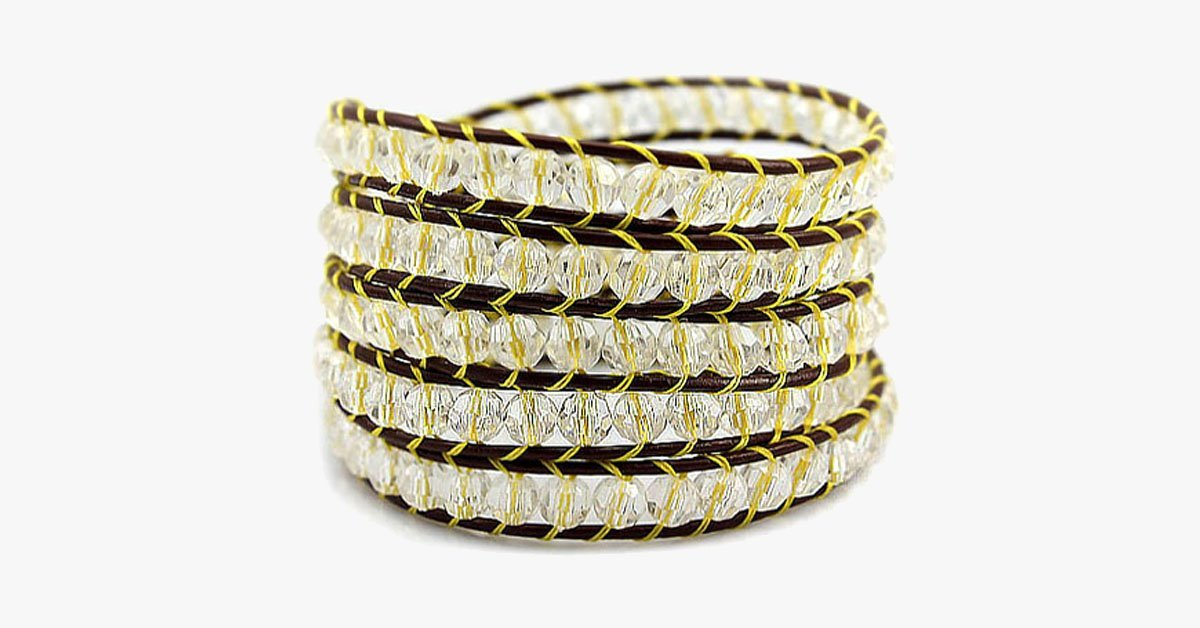 Lemon Wrap Bracelet - FREE SHIP DEALS