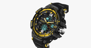 Men's Yellow Sport Watch