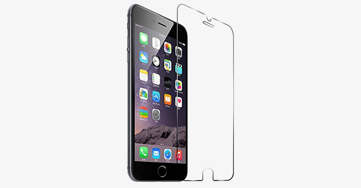 iPhone Ultra-Thin Anti-Scratch Tempered Glass Screen – Protect Your Phone Screen From Damage And Scratches!
