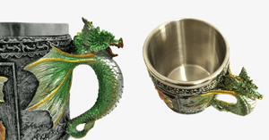 3D Stainless Steel Dragon Mug - FREE SHIP DEALS
