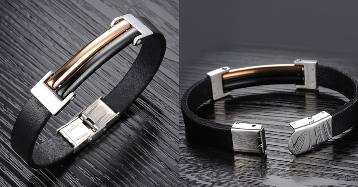Evening Lights Men's Stainless Steel Bracelet - FREE SHIP DEALS