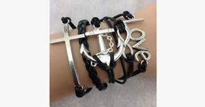 Love Infinity Anchor Cross - FREE SHIP DEALS