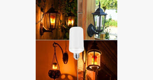 LED Flame Effect Fire Light Bulbs - FREE SHIP DEALS