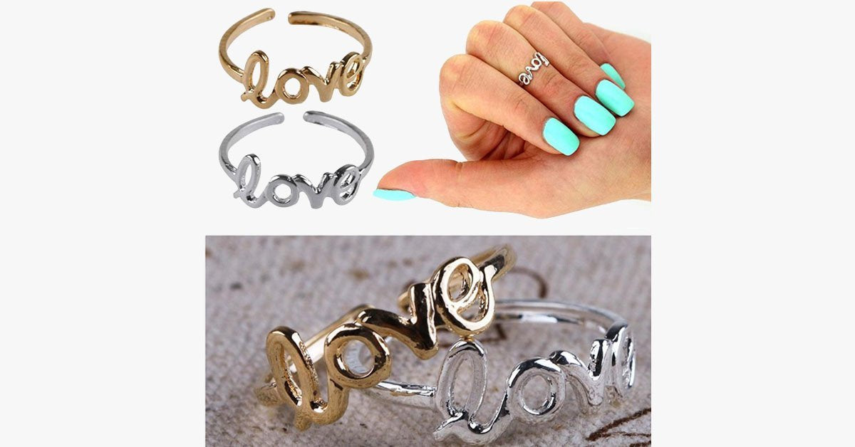 Love Letter Fashion Toe Ring - FREE SHIP DEALS