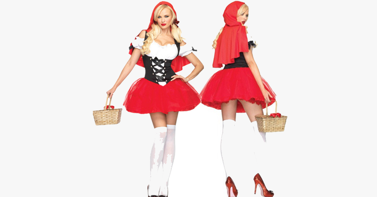 Racy Red Riding Hood Halloween Costume - FREE SHIP DEALS