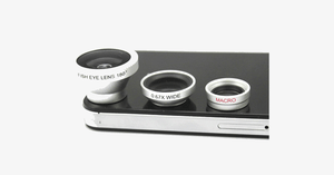 3-piece camera lens attachment set for iPhone or Android - FREE SHIP DEALS