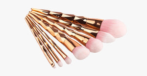 Gold Jewel Mermaid Brush Set - FREE SHIP DEALS