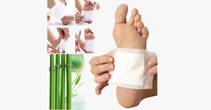 Herbal Foot Detox Patch - FREE SHIP DEALS