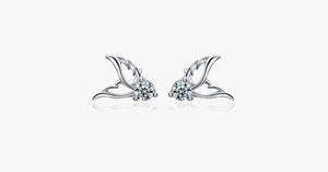 Angel Papillon Stud Earrings - FREE SHIP DEALS