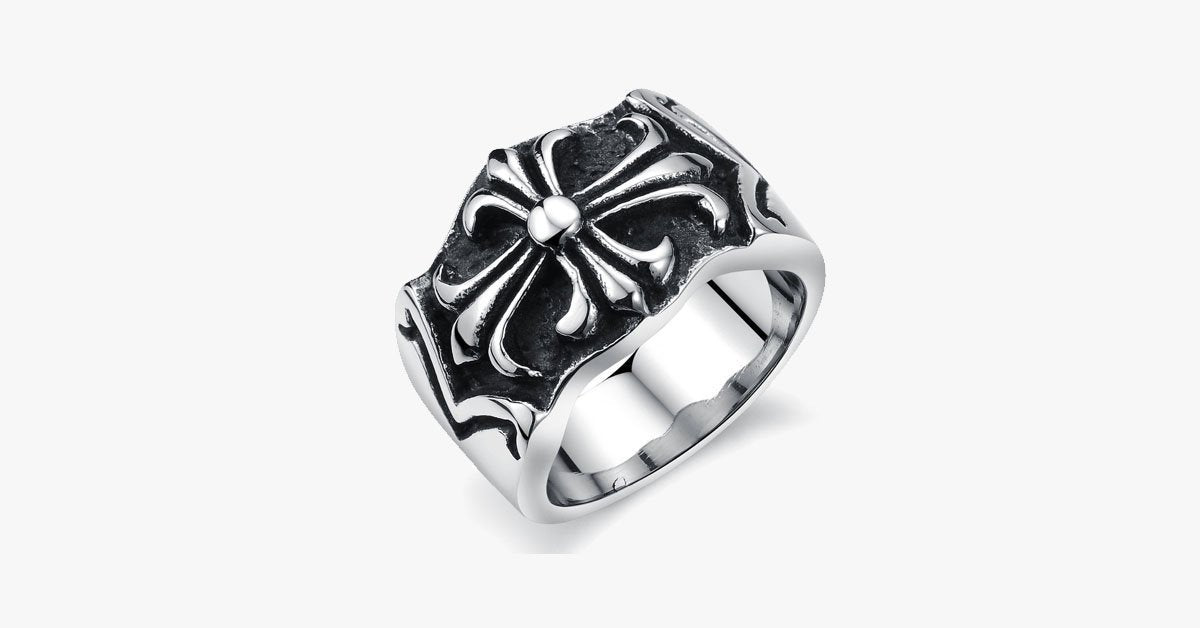 Cross Men's Ring - FREE SHIP DEALS