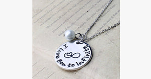 I Love You To Infinity(Pearl) - FREE SHIP DEALS