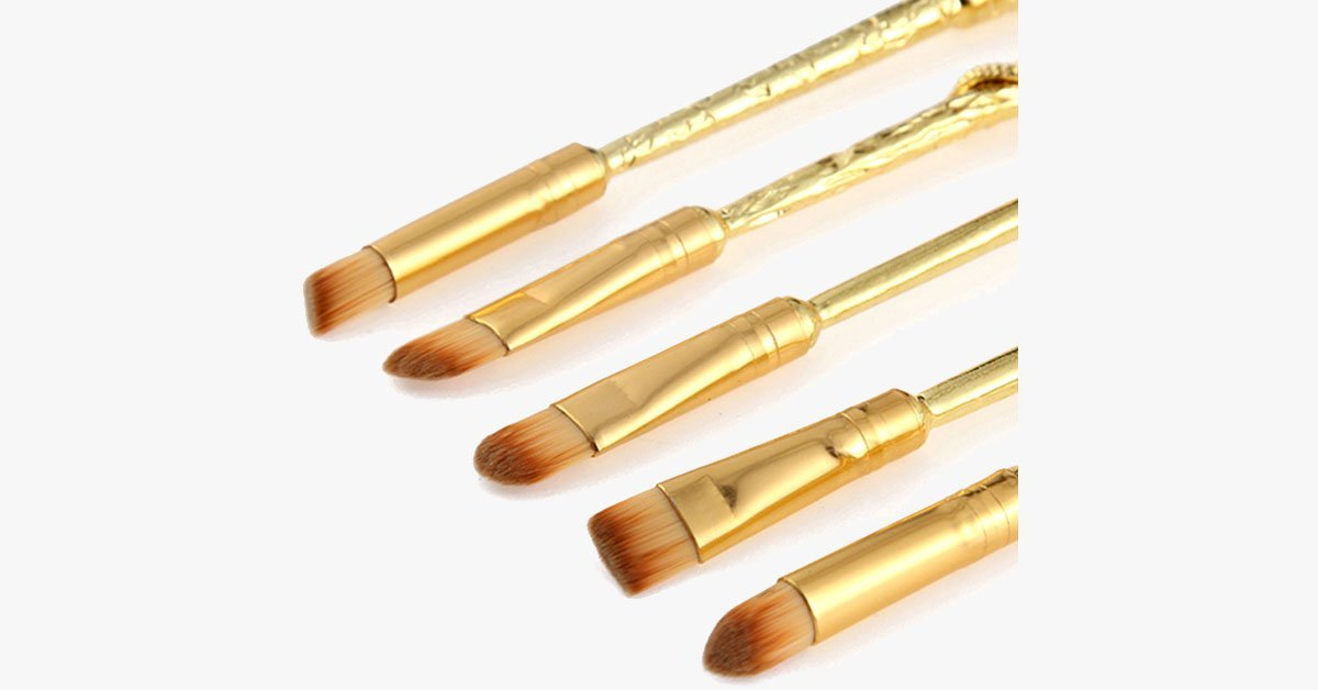 Gold Plated Magic Brush Set - FREE SHIP DEALS