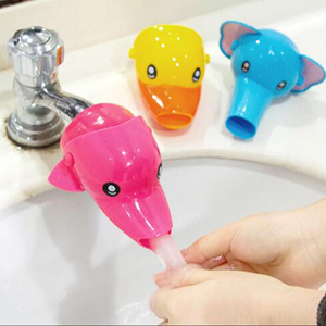 Faucet Extender for Kids - 3 Pack Animal Spout Extenders for Sink Faucets - Hand Washing for Babies, Toddlers & Children