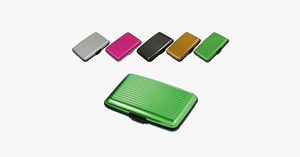 High Quality Metal Shiny  Card Holder Wallet - FREE SHIP DEALS