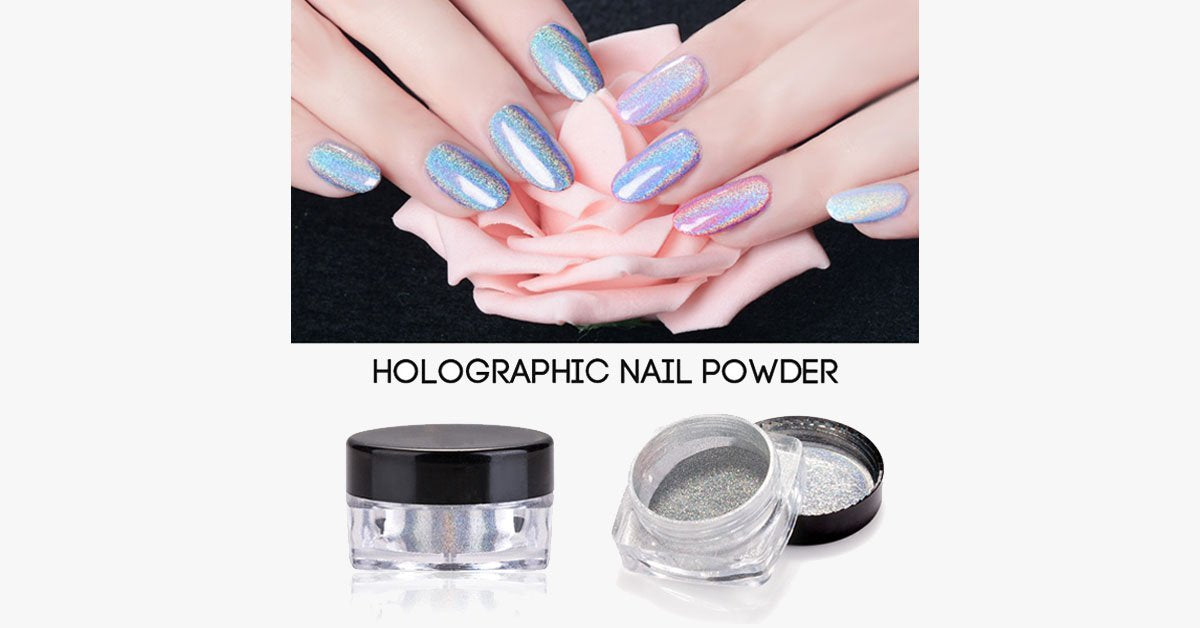 Holographic Unicorn Nail Powder - FREE SHIP DEALS