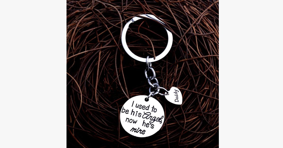 I Used To Be His Angel Keychain - FREE SHIP DEALS