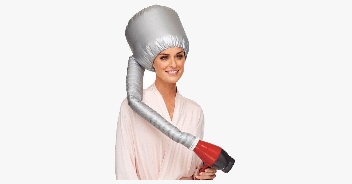 Drying Cap with Blow Drying Attachment - FREE SHIP DEALS