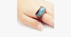 Magic Forest Wood Ring - FREE SHIP DEALS