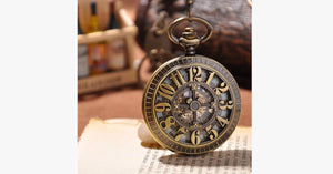 Antique Gold Pocket Watch - FREE SHIP DEALS
