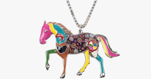 Horse Pendant Necklace - FREE SHIP DEALS