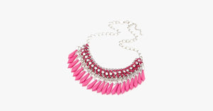 Fringe Drop Statement Necklace - FREE SHIP DEALS