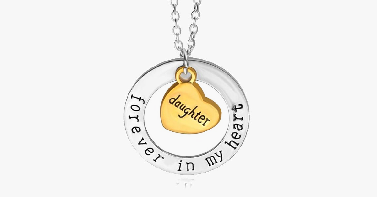 Daughter Forever In My Heart - FREE SHIP DEALS