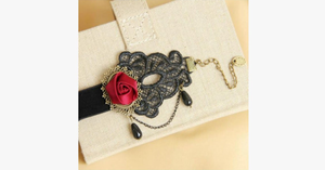 Deep Rose Anklet - FREE SHIP DEALS