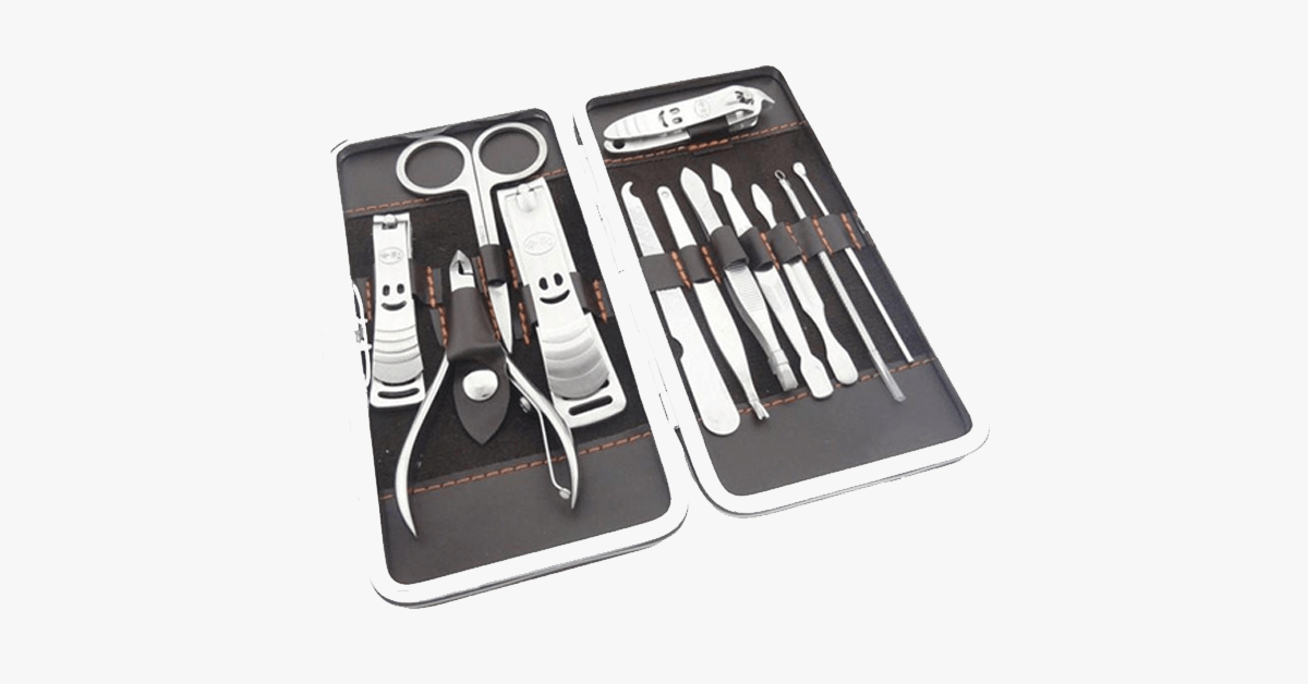 12 Piece Nail Clipper Kit - FREE SHIP DEALS
