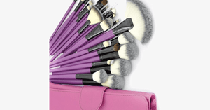 Purple Tulip 24 Piece Brush Set - FREE SHIP DEALS
