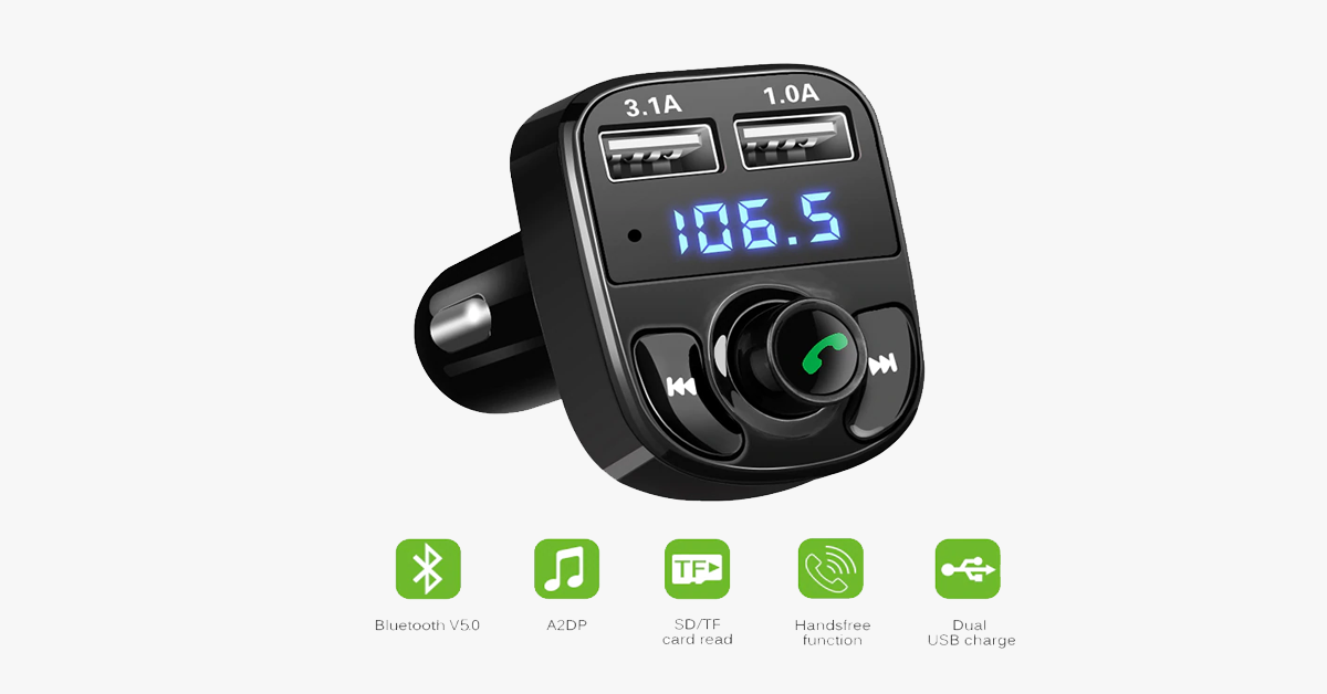 Bluetooth FM Transmitter Modulator