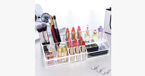 Acrylic Cosmetic Organizer - FREE SHIP DEALS