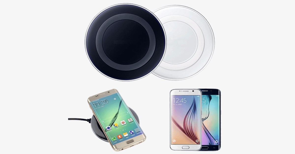 Wireless Charger Charging Pad for SAMSUNG GALAXY S6 / S6 Edge / S6 Edge Plus / S7 / S7 Edge / Note 5 - FREE SHIP DEALS